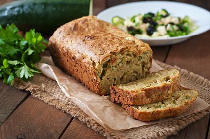 Zucchini-Brot glutenfrei