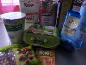 Joghurtbrot-Zutaten