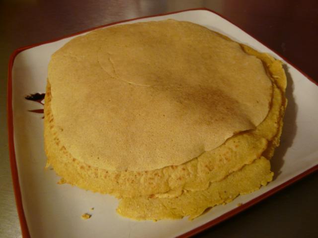 Kichererbsenpfannkuchen glutenfreies Rezept