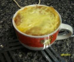 glutenfreie Zwiebelsuppe